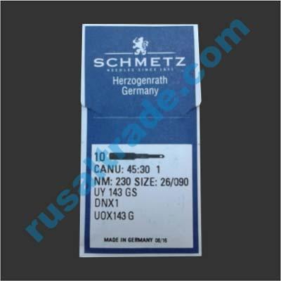 Мешкозашивочная игла Schmetz DNx1, № 26(230)