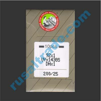 Мешкозашивочная игла Organ UYx143GS, № 25(200)